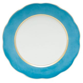 Herend Service Plate Turquoise