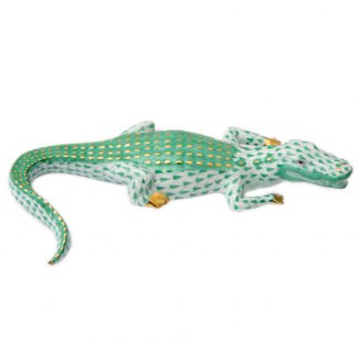 Herend Small Alligator