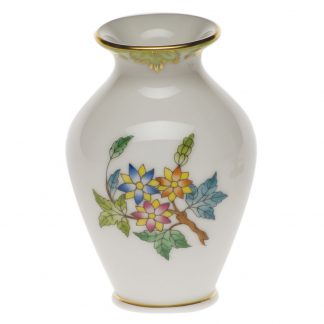 Herend Small Bud Vase With Lip