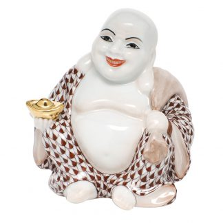 Herend Small Laughing Buddha