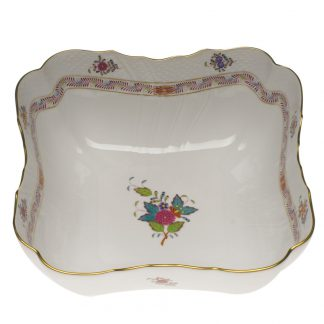 Herend Square Salad Bowl