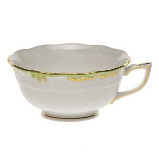 Herend Tea Cup Green
