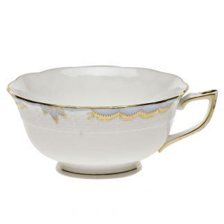 Herend Tea Cup Light Blue