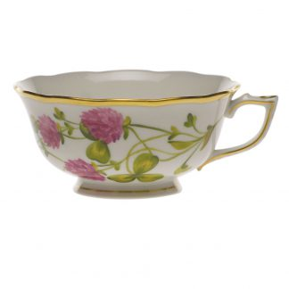 Herend Tea Cup Red Clover