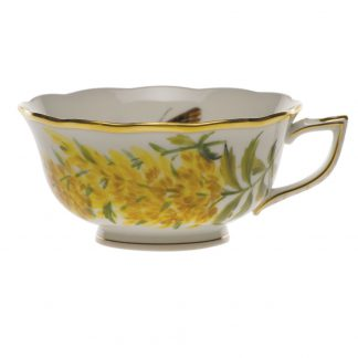 Herend Tea Cup Tall Goldenrod