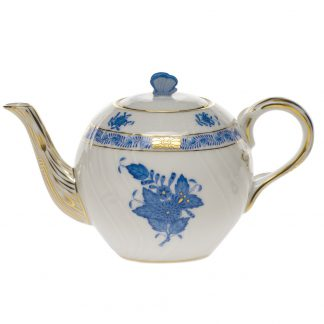 Herend Tea Pot With Butterfly