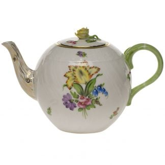 Herend Tea Pot With Rose