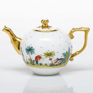 Herend Tea Pot With Twist