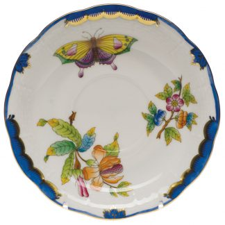 Herend Tea Saucer Blue