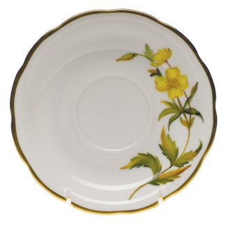 Herend Tea Saucer Evening Primrose