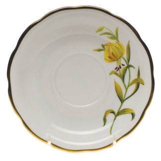 Herend Tea Saucer Meadow Lily