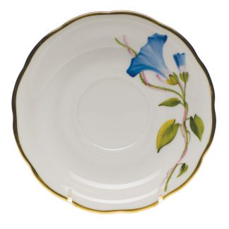 Herend Tea Saucer Morning Glory