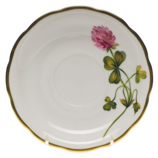 Herend Tea Saucer Red Clover
