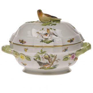 Herend Tureen With Bird
