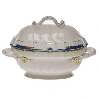 Herend Tureen With Branch Blue