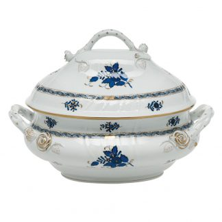 Herend Tureen With Branch Handles