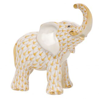 Herend Young Elephant