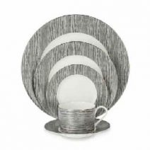 Michael Aram Wood Grain 5 Piece Place Setting