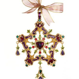 Jay Strongwater 2017 Annual Ornament - Jewel