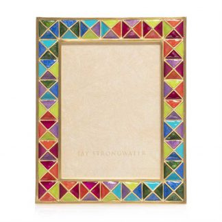 """Jay Strongwater Abaculus - Pyramid 3"""" X 4"""" Frame"""