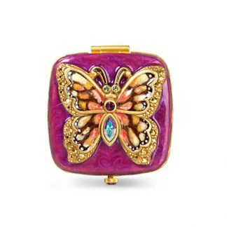 Jay Strongwater Bella Butterfly Compact - Flora