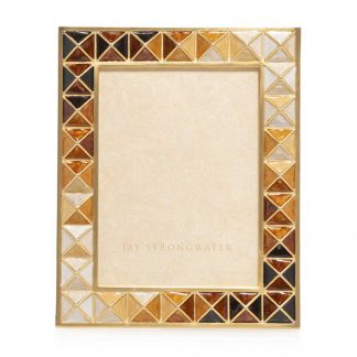 """Jay Strongwater Brocade Abaculus - Pyramid 3"""" X 4"""" Frame"""