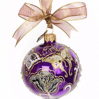 "Jay Strongwater Butterfly Nouveau Artisan 3"" Ornament - Bouquet"