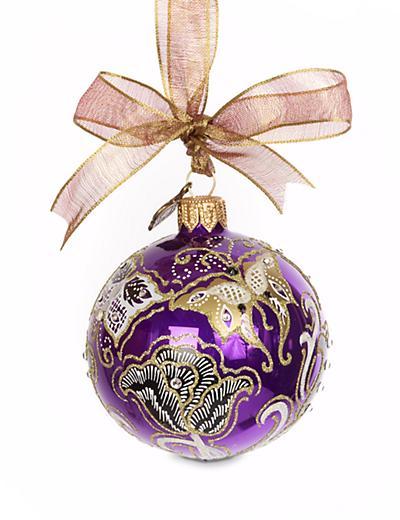 "Jay Strongwater Butterfly Nouveau Artisan 3"" Ornament - Bouquet"