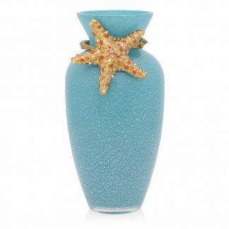 Jay Strongwater Coastal Asteria Starfish Vase