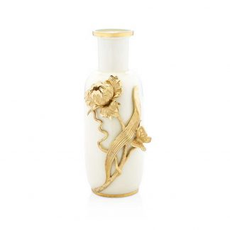 Jay Strongwater Composition Addilyn Tulip & Butterfly Vase