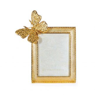 """Jay Strongwater Composition Juno Butterfly 3"""" X 4"""" Frame"""