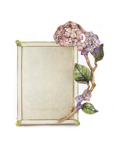 Jay Strongwater Gail Hydrangea 5″ x 7″ Frame – Flora – Paris ...
