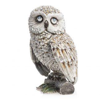 "Jay Strongwater Hildy Owl 5"" Figurine"