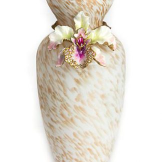 Jay Strongwater Loretta Orchid Vase - Flora