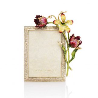 """Jay Strongwater Margery Tulip 5"""" X 7"""" Frame"""