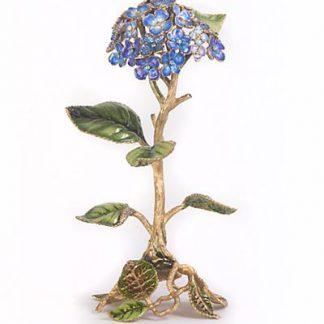 Jay Strongwater Nori Hydrangea Objet  - Flora
