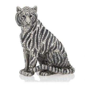 Jay Strongwater Parker Tiger Figurine