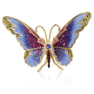 Jay Strongwater Puccini Butterfly Large Figurine