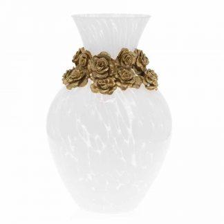 Jay Strongwater Suzanne Rose Vase