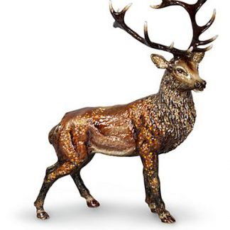 Jay Strongwater Terence Stag Figurine - Natural