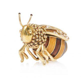 Jay Strongwater Winnie Honey Bee Box