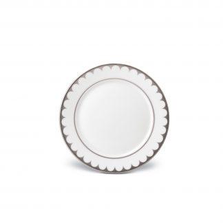 L Objet Aegean Platinum Bread Butter Plate