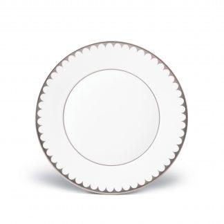L Objet Aegean Platinum Dessert Plate