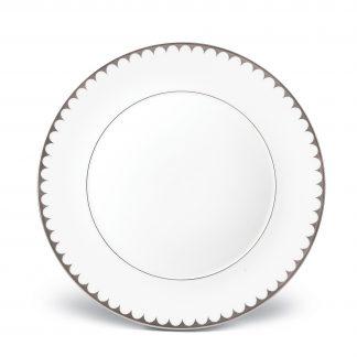 L Objet Aegean Platinum Dinner Plate