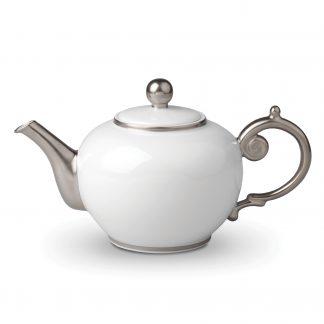 L Objet Aegean Platinum Teapot
