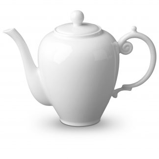 L Objet Aegean White Coffee Pot