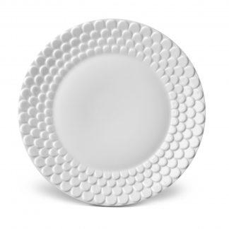 L Objet Aegean White Dessert Plate