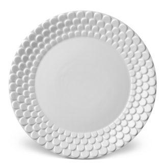 L Objet Aegean White Dinner Plate