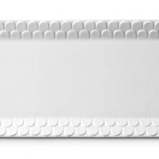 L Objet Aegean White Rectangular Platter