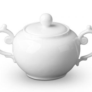 L Objet Aegean White Sugar Bowl